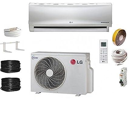 Aire acondicionado Conjunto LG Econo e09em.SSW para 30 m2 + Kit Pret A posêr