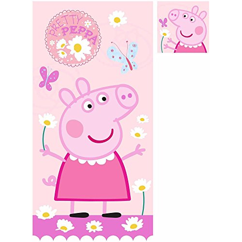 Peppa Pig 2 Piece Bath Set/bath Towel and Wash Cloth by Peppa Pig