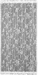 product image for Heritage Lace English Ivy 48-Inch Wide by 63-Inch Drop Door Panel, White