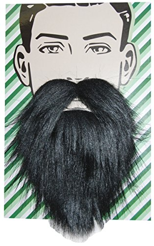 Self Adhesive Beard and Mustache Halloween Costume Accessory (Logger (Halloween Costumes For Beards)