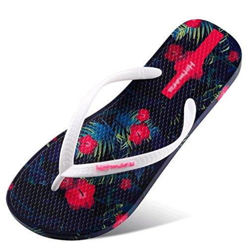 donna 40 estate da femminili sandali Pantofole scivolare scarpe piatto spiaggia dimensioni fFdnF7qg