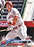 2018 Topps Opening Day #4 Mike Trout Los Angeles Angels Baseball Card