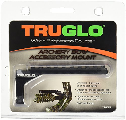 TRUGLO Picatinny Bow Accessory Mount Stabilizer