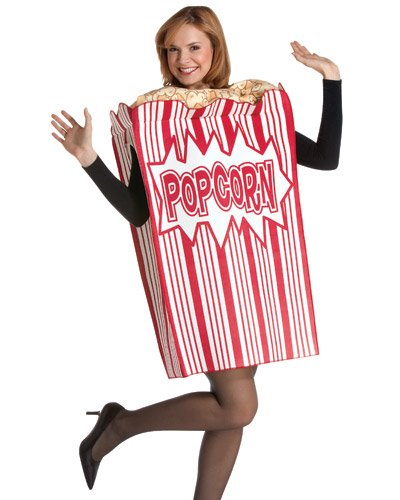Popcorn Costumes (Rasta Imposta Movie Night Popcorn, Multi, One Size)