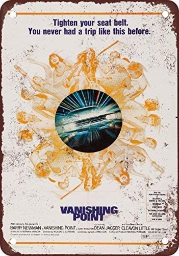 Vintage Look Reproduction 2 1971 Vanishing Point Metal Sign