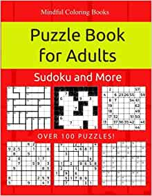 Picture puzzle books for adults