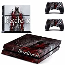 Bloodborne Ps4 Cover Decal Skin Sticker Cover For Playstation 4 Console + Controller Decal