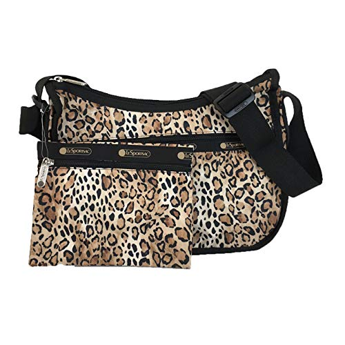 LeSportsac Ombre Cheetah Classic Hobo Crossbody Bag + Cosmetic Bag, Style 7520/Color D962