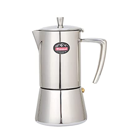 LEDU Cafetera, 4 Taza / 6 Taza Taza de café de Acero ...