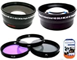 Best Big Mike's Macro Digital Cameras - Deluxe Lens Kit for Canon VIXIA HFM40 HFM41 Review