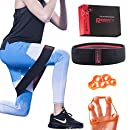 RedonFit Hip Circle for booty with finger stretchers| Exercise with Hip Band Loop in a gift box, ideal for pre & post workout sessions for glutes activation