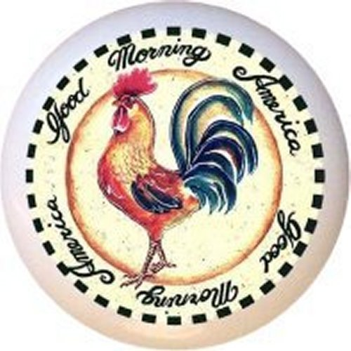 corelle rooster plates - 3