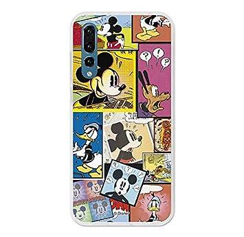 La Casa de Las Carcasas Carcasa Oficial Disney Mickey, Comic Huawei P20 Pro