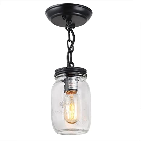 Lnc 1 light pendant lighting glass mason jar ceiling lights pendant lnc 1 light pendant lighting glass mason jar ceiling lights pendant lights aloadofball Image collections