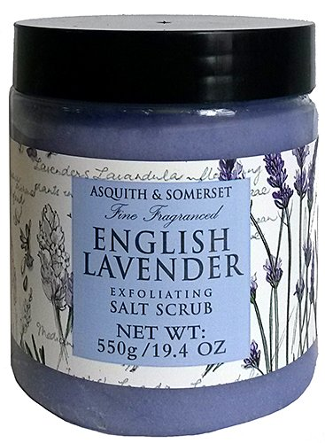Asquith & Somerset English Lavender Exfoliating Salt Scrub 19.4 Oz. From England
