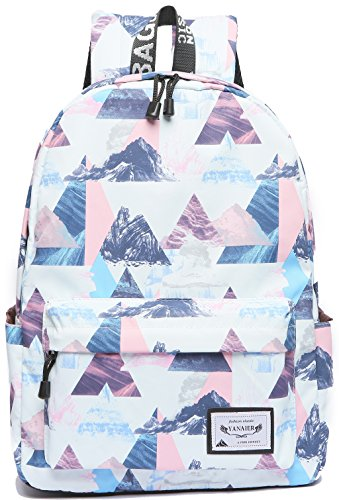 Girls Bags Off for Canvas Style3 water Travel Not Backpack and Bag School College Student White Backpack School splash Women Bag Backpack Lightweight xqRZCa7w