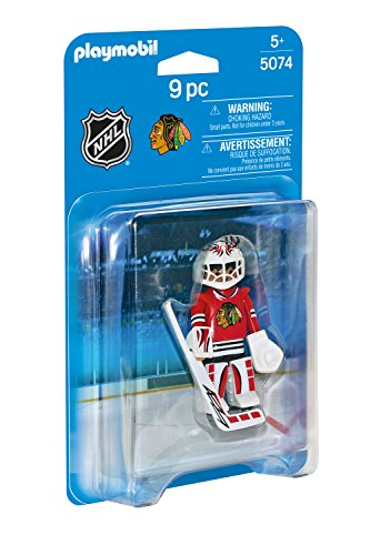 PLAYMOBIL NHL Chicago Blackhawks Goalie (Chicago Blackhawks Goalie)