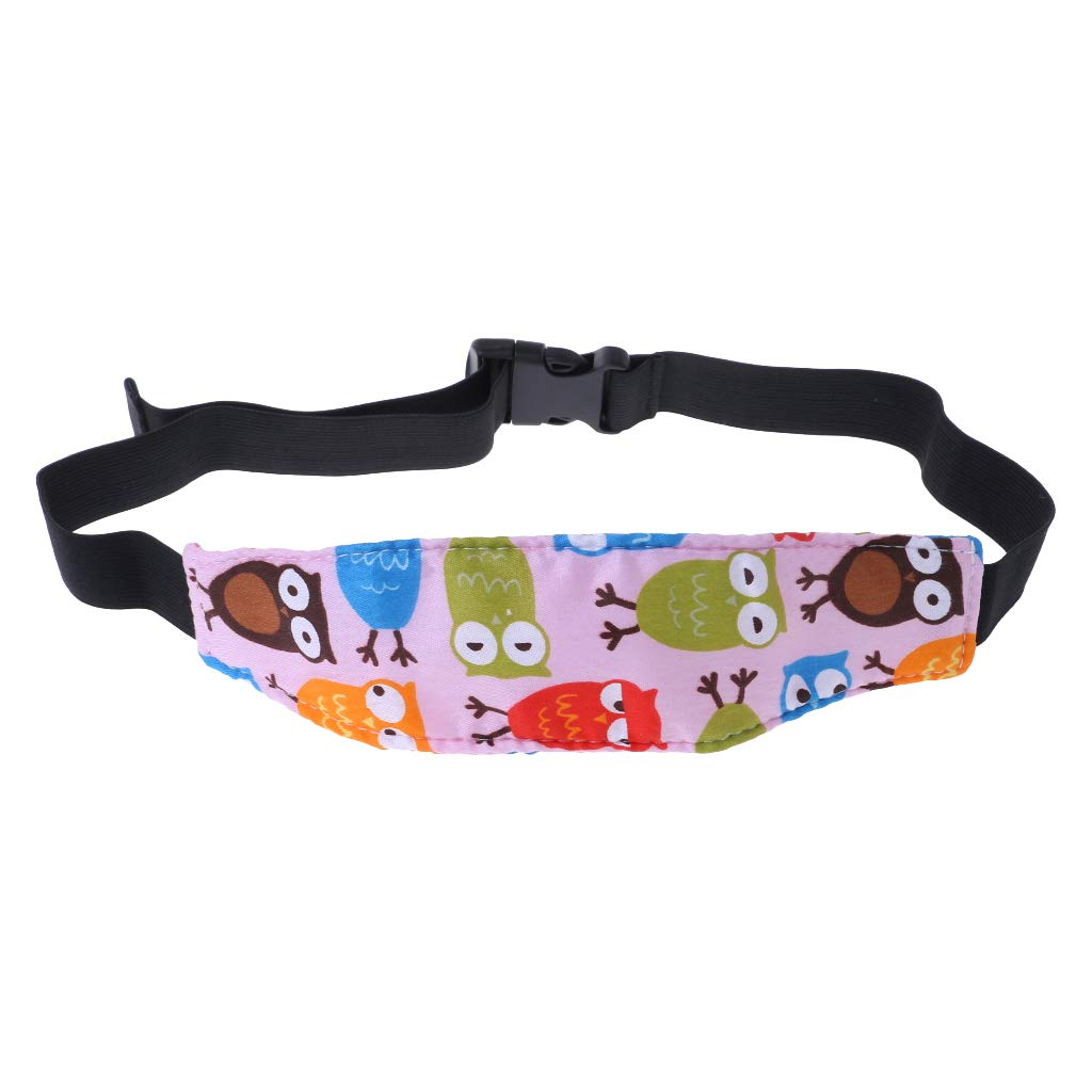 Car Seat Baby Safety Head Pads Protector Sleeping Head Fixing Belt Cushion Accessories Kids Children Adjustable Nap Support Holder by TwJim