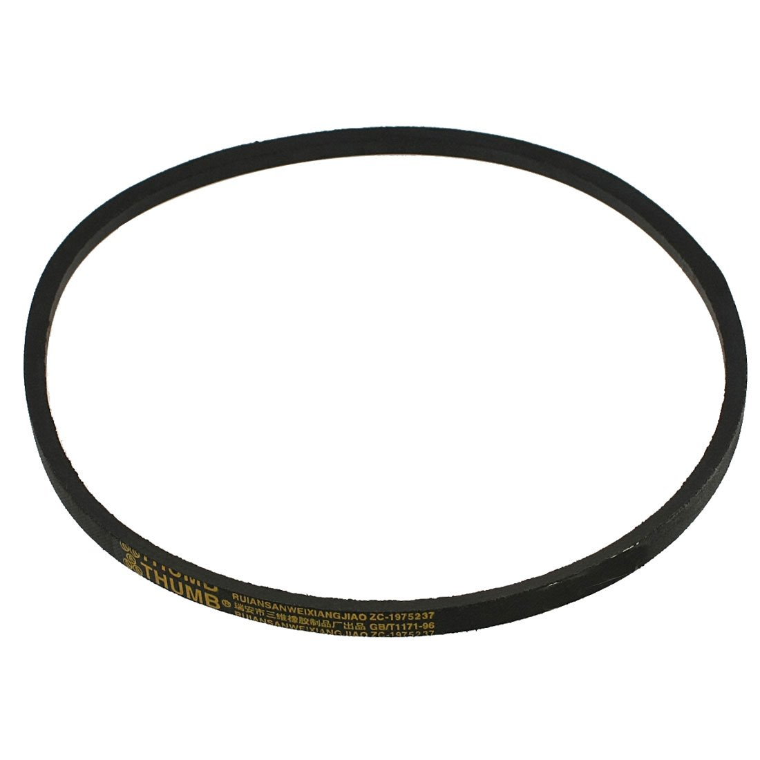 sourcingmap® Black Rubber 37' Inner Girth M Type Automotive V Belt a12020200ux0323