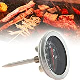 VHLL Cooking Oven Fryer BBQ Barbecue Probe Stainless Steel Thermometer Food Meat Gauge 350 Degree Centigrade NEW