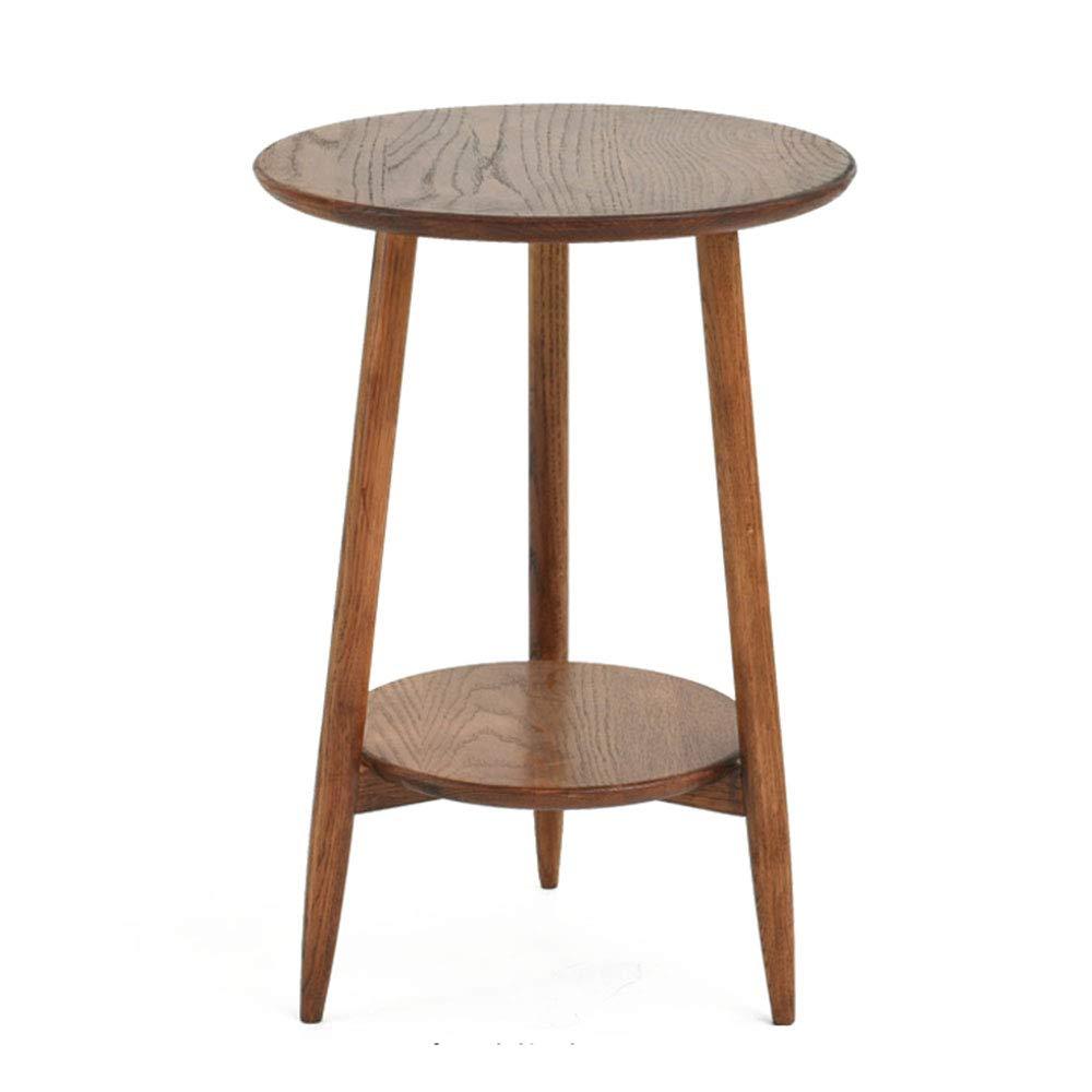 MoerHJ Legno Massiccio verdeicale Fiore Stand Famiglia Indoor Lolo verde Decorazione della Carne Soggiorno in Vaso Piccolo Tavolo rossoondo Tavolino Tavolino,d