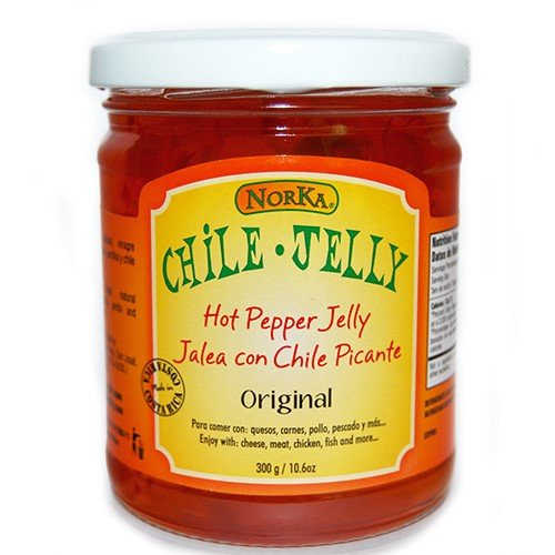 Hot Pepper Jelly by Norka Chile Jelly - Original (10.6 ounce)