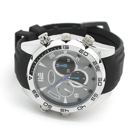 SUNDREAM® 16GB HD IR Reloj cámara impermeable/ reloj espía cámara oculta visión nocturna: Amazon.es: Bricolaje y herramientas