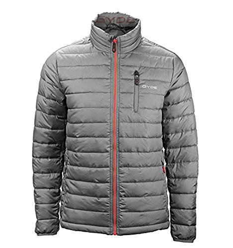 Gerbing's Gyde 7 volt Calor Puffer Filled Jacket-Mens-Gray-Large by Gerbing