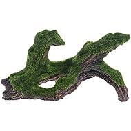 Aquarium Resin Artificial Driftwood Tree With Moss Fish Tank Ornament Decoration