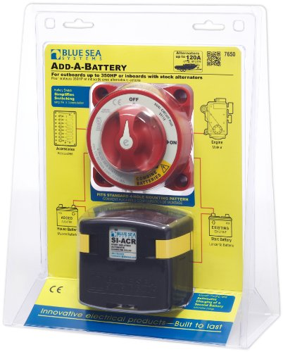 Bank Battery Isolator (Blue Sea Systems 7650 Add-A-Battery Kit)