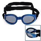 Pet Dog Goggles Uv Sunglasses Sun Glasses Fashion Eye Wear Protection 6 Color (BLUE)
