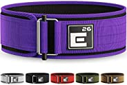 Element 26 Self-Locking Weight Lifting Belt | Premium Weightlifting Belt for Crossfit, Weight Lifting, and Oly