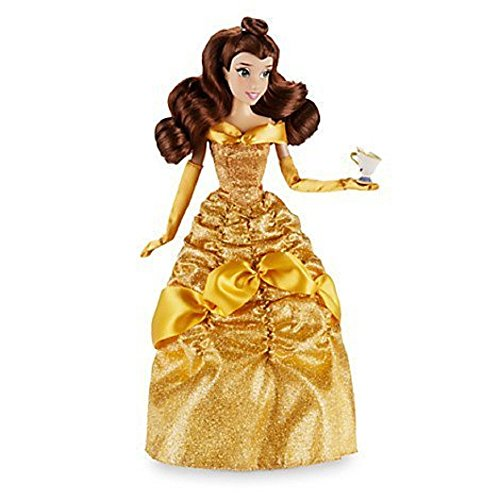 Disney-Belle-Classic-Doll-with-Chip-Figure-12-Inch