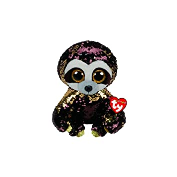 7f79065915f Ty Flippables TY36780 Dangler the Sloth Soft Toy 23 cm Multi-Coloured