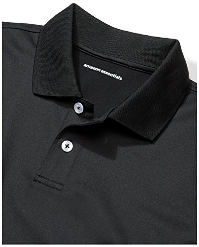 Amazon Essentials Boys' 2-Pack Performance Polo, Canyon Blue/Black, M (8) by Amazon Essentials (Image #4)