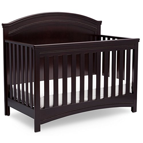 Best Review Of Simmons Kids SlumberTime Emma Convertible Crib N More, Black Espresso