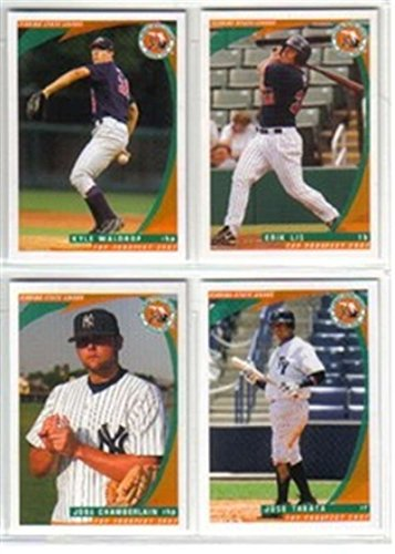 2007 Florida State Top Prospects Tigers Team Set Cameron Maybin 2 Cards Mint