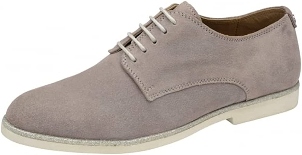atmosphere graduate School necklace  Ravel - Travis Womens Grey Suede Leather Lace up Brogue Shoes White/Silver  Sole Size 4: Amazon.co.uk: Shoes & Bags