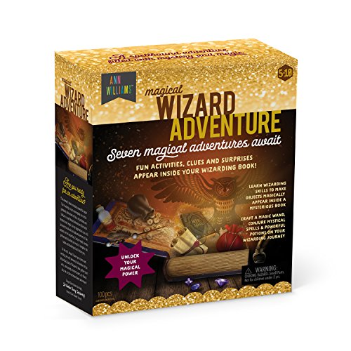 - Magical Wizard Adventure - Fun Activities, Surprises, and Clues Magically Appear in an Enchanted Wizarding Book