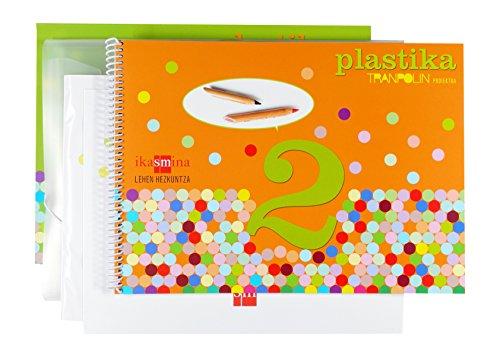Plastika. 2 Lehen hezkuntza. Proiektua Tranpoli - 9788467514858