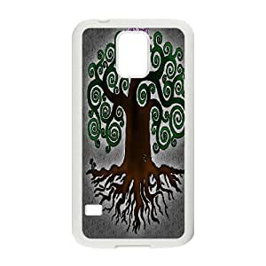 Art Paintings Tree of Life Cell phone Case Cover For Samsung Galaxy S5 ART131025