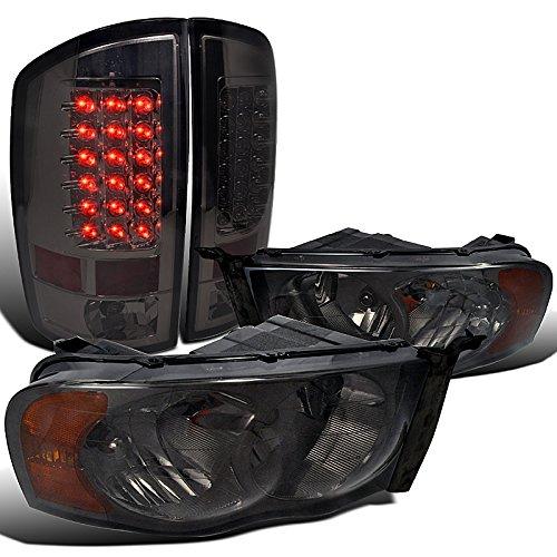 Dodge 1500 Smoked Headlights Lights