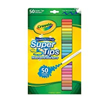 Crayola 50 Super Tips Washable Markers