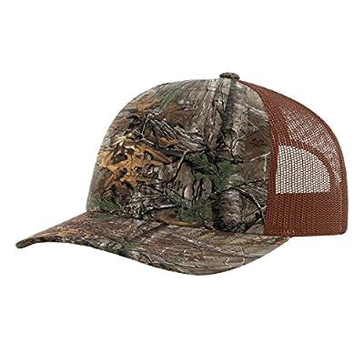 Twill Mesh Back Trucker Snapback Hat -- XTRA/BROWN