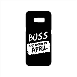 Fmstyles - Samsung S8 Plus Mobile Case - Boss Are Born In April