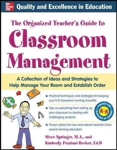 (The Organized Teacher's Guide to Classroom Management with CD-ROM)