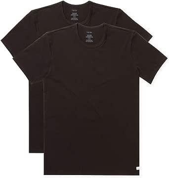 Calvin Klein Men's Cotton Stretch Crew Neck T-Shirt 2 Pack