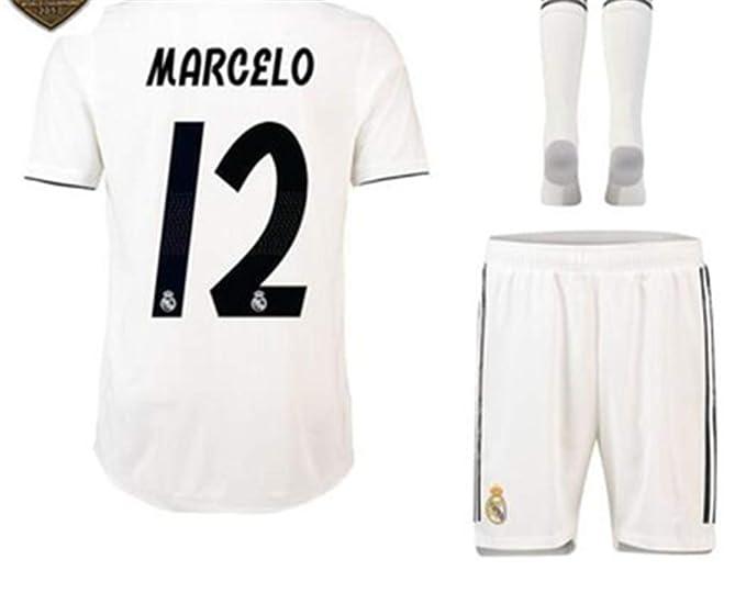 Amazon.com: LISIMKE Equipo de fútbol 2018/19 Real Madrid ...