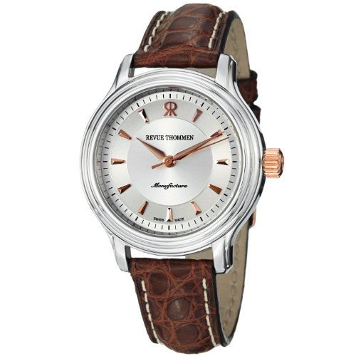 Revue Thommen Women's 12500-2125 Ladies Automatic Analog Display Swiss Automatic Silver Watch