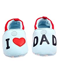 xhorizon TM Baby Boys Girls I LOVE MOM/I LOVE DAD Toddler Sport Casual Shoes